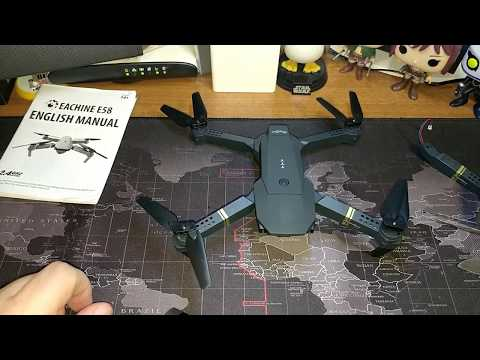 Eachine E58 Arm Replace - Αντικατάσταση βραχίωνα σε Eachine E58 Drone (by Banggood)