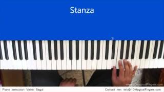 Chahun Main Ya Na Piano Tutorial  By Vishal Bagul   Melody   Chords   Arpeggios