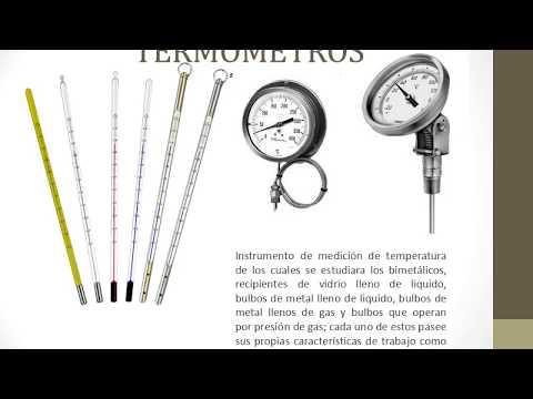 Instrumentación Industrial - Termómetros y Pirometria