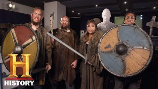 VIKINGS | Alexander Ludwig & Alex Hogh Andersen Gives Our Fans A Big Surprise!