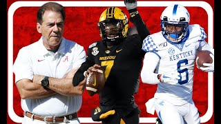 Alabama Football Schedule 2020 To Include: Missouri And Kentucky