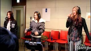 신동의 심심타파 - Dalshabet - B.B.B(Live), 달샤벳 - 비비비(Live) 20140115