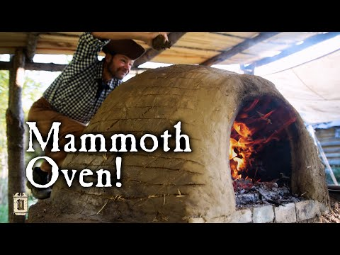 How To Build a HUMONGOUS Earthen Oven