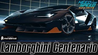 Need For Speed No Limits: Lamborghini Centenario (MAXXED OUT + Tuning [All Black Edition Parts])