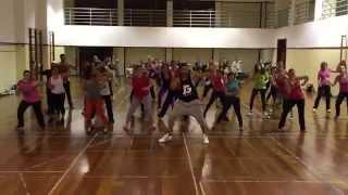 Enrique Iglesias - Yo Sin Ti (El Perdon ) Zumba Fitness ( Full Choreography)