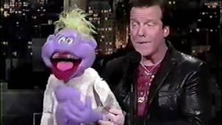 Jeff Dunham and Peanut on David Letterman  | JEFF DUNHAM