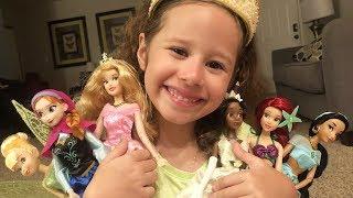 BONECAS DA DISNEY, Anna (Frozen), Ariel (A Pequena Sereia),Aurora (A Bela Adormecida)