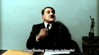 Hitler is informed by Mr. Poe