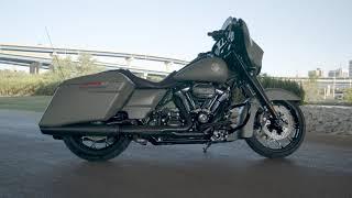 2021 New Street Glide Special Harley-Davidson Deadwood Green Denim – Black Finish
