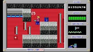 preview picture of video 'Duke Nukem - Episode 1: Shrapnel City - Level 6 [MS-DOS]'