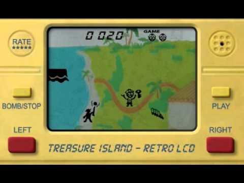 Video of Treasure Island LCD Retro