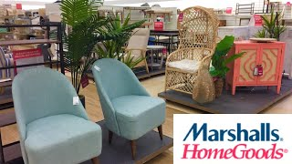 MARSHALLS HOMEGOODS FURNITURE ARMCHAIRS CHAIRS HOME DECOR SHOP WITH ME SHOPPING STORE WALK THROUGH