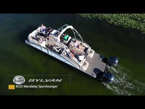 2017 Sylvan Mandalay 8525 Sportlounger Twin in Madera, California