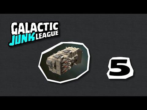 Galactic Junk League #5 Ako nestavať