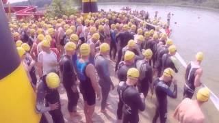 preview picture of video 'Przybysław Połoński - Triathlon Sława 20.07.2014 r.'