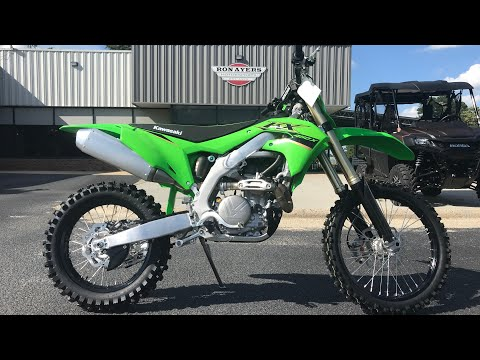 2022 Kawasaki KX 450X in Greenville, North Carolina - Video 1