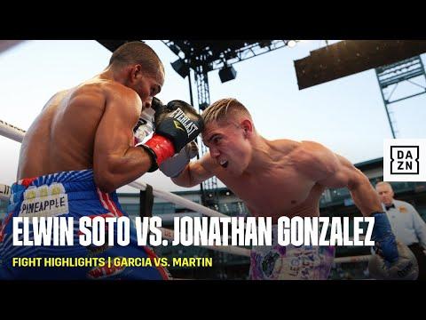 Элвин Сото - Джонатан Гонсалес / Soto vs. Gonzalez