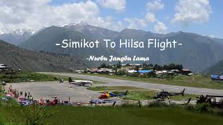 preview picture of video '#Simikot-Hilsa flight'