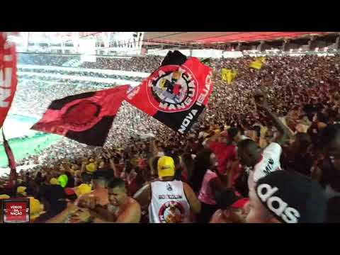 Explosão da torcida do Flamengo no gol do Rafinha + Vamo virar Mengo!