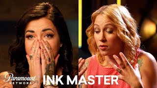 Best Tattoo Canvas vs Artist Moments | Ink Master