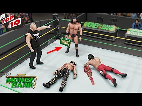 WWE Top 10 Money In The Bank 2019 Predictions! (WWE 2K19)