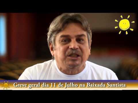 11 de Julho: A Baixada Santista vai Parar <br> TV Bancária
