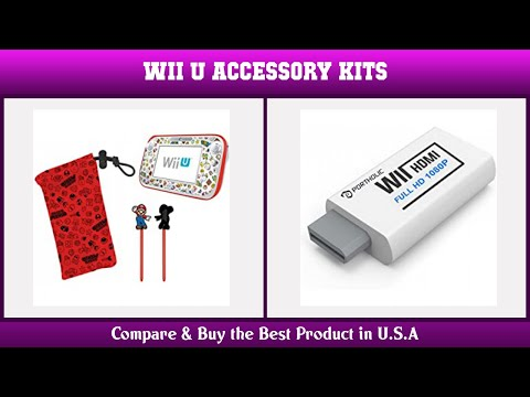 Top 10 Wii U Accessory Kits to buy in USA 2021 | Price & Review