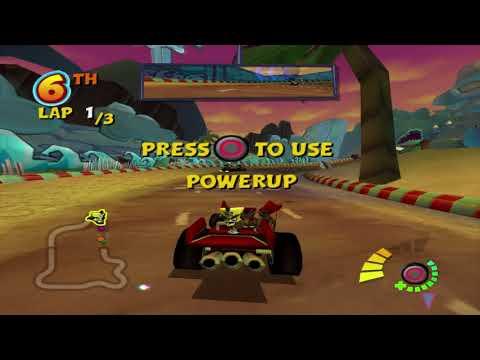VIDEO] zolwikwkurwik: Crash Nitro Kart (PS2 on PS4, Jailbreak