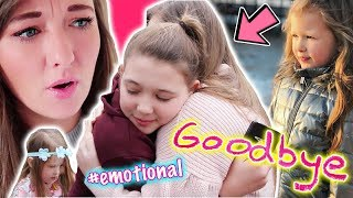 SAYING GOODBYE TO OUR 12 YEAR OLD! + SURPRISE TRIP FOR ESMÉ AND ISLA!
