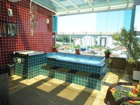 Cobertura com piscina à venda no Bom Retiro
