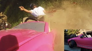 I Rolled the Deadly Fast Barbie Car