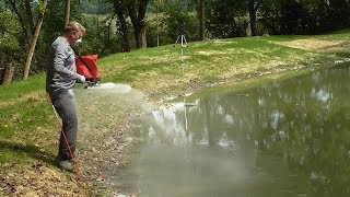Ep. 11 Sealing a pond leak with Soilfloc