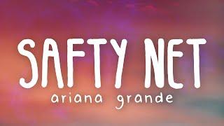 Ariana Grande - safety net ft. Ty Dolla $ign (Lyric Video)