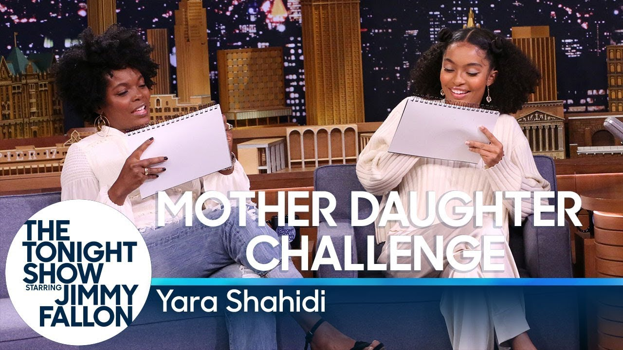 Mother Daughter Challenge with Yara Shahidi thumbnail