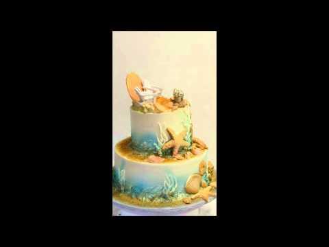 Ocean theme cake - Sea shells