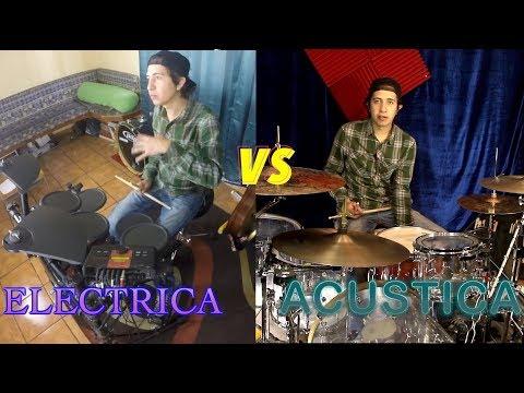 Batería Eléctrica vs Batería Acústica | Hugo Zerecero