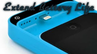 Extend Your Battery Life On Your IPod 5/6 With The  Power Bank Case