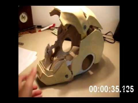 Como hacer el casco de Iron Man en casa? | Yahoo Respuestas
