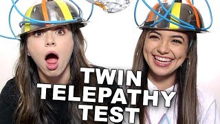 Twin Telepathy Test - Merrell Twins