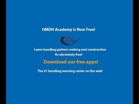 HMDH Academy Handbag Tutorials - YouTube