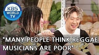 """Many people think reggae musicians are poor"" [Happy Together/2018.08.30]"