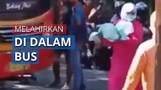 Wanita Asal Tuban Melahirkan di Dalam Bus saat Perjalanan Menuju Surabaya