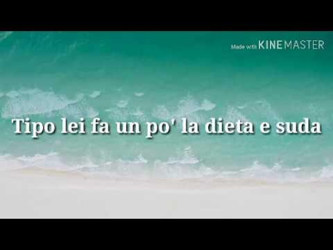 J AX Ostia Lido testo cantato