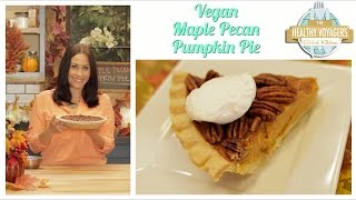 Vegan Maple Pecan Pumpkin Pie Recipe