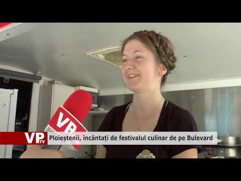 Ploieștenii, încântați de festivalul culinar de pe Bulevard