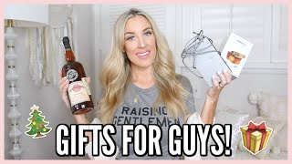 MEN'S GIFT GUIDE! LAST MINUTE GIFT IDEAS FOR HIM | OLIVIA ZAPO