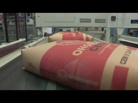 New Cement Packaging Line at Ohorongo Cement in Namibia