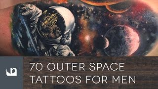 70 Outer Space Tattoos For Men