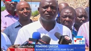 Garissa county get power upgrade