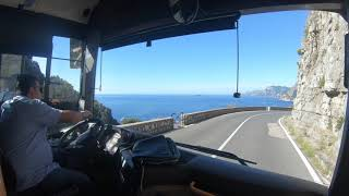 Infamous Amalfi Coast Bus Ride!